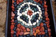 rock mosaik