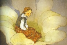 Thumbelina / Illustrations for the story Thumbelina by Hans Anderson.