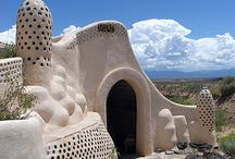 Earthship, Cob & Eco Homes / Erase your footprint. / by Chris Fagin