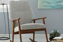 Rocking chair+Fauteuil