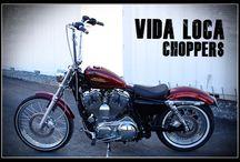 """Sportster Harley """"Sportster72"""" by Vida Loca Choppers / Sportster Harley 72 Designed by Vida Loca Choppers in 2011"""