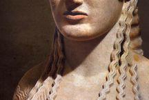 archaische beeldhouwkunst