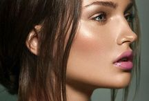 Natural Make Up Looks / Natural, nude make up. Bare faced beauty. Glowy skin, soft make up with natural brows.