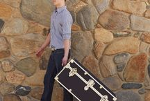 College Trunks / Trunks for your college dorm room. Sturdy, reliable, and multi-functional!