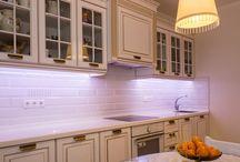 Классические деревянные кухни