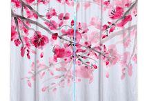 Curtains blossom