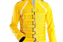 Freddie Mercury Musician Concert Jacket / Freddie Mercury; 5 September 1946 – 24 November 1991 was a British musician, singer, and songwriter, best known as the lead vocalist and lyricist of the rock band Queen.
