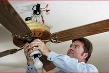 ceiling fan repair / http://www.rootelectric.com/ceiling-fans/ceiling-fan-installation.html