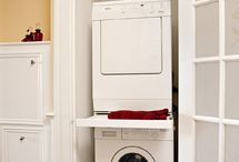 Laundry Rooms for Small Spaces & Organization / by Sherry Smith