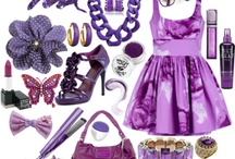 My favourite colour / Purple is my definite favourite colour! It always makes my smile when I see it! / by Charlotte Behan