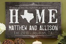 Alabama girl in a Texas world / Home decorating ideas for living in Texas.  / by Tasha Thompson