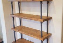 pipe shelf