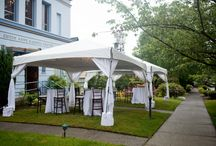 Tented Events / Examples of how to use a canopy at your next function