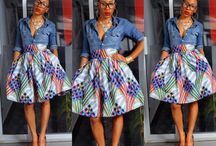 Traditional Fashion Clothing / African clothing from different countries