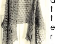 Crochet shawls, wraps and scarfs