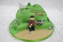 Golf cake / by Fancy Fondant Cakes by Emily Lindley