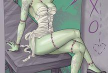Art- Horror,Sci Fi / by Mike Parker