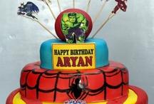 Super Hero Cakes
