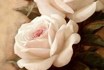 bloem licht roze