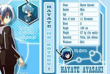 Hayate No Gotoku Character