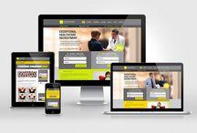 Recruitment Website Design Portfolio / Optimal Internet Recruitment Website Design Portfolio