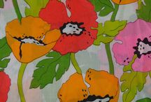 Poppies / I love poppies in the garden and as a fabric/craft motif! Iceland poppy is my favorite, mainly because I can get them to grow.