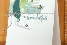 Stampin'up - Four Feathers
