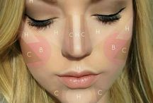 Give good Face  / Contouring blush foundation / by Queen B
