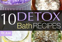 Bath oils detox