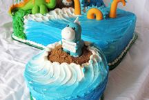 Little Man's Birthday Cakes / by Jeri Wigdahl