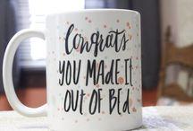 Coffee Mugs I Want / by Alyssa Stinehart