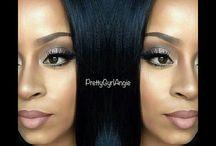 prettygyrlangie / mua and hair guru