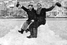 1954 boğazda  kış.