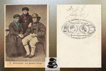 Norwegian Costumes, 1862 - 1900
