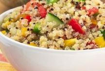 quinoa recipes / by Michelle Donovan-Cuddihee