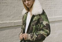At Ease! These military-chic pieces command attention.