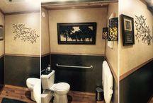 3 Stall Luxury Portable Restroom Trailer