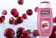 Nivea-Fruit Promotional Ads / It's a moodboard about fruit, and shower gel, and shit yo. #CommDesign4Life