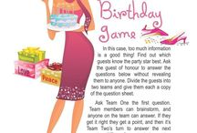 "Birthday Party Printable Games / At a birthday party, there's always time for a few great games. Our printable games are easy to use, affordable, and can be played again and again!  We offer classic birthday games which are great for handing out prizes. Are you looking for a something more modern? Check out ""Birthday Party: This is Your Life"" to really test your guest's knowledge of the birthday boy or girl.  Don't settle for boring party store games – try something new and print a birthday game now!"