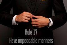 gentlemen wear
