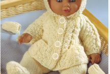 knitting / doll clothes patterns