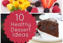 HEALTHY DESSERTS & SWEET TREATS / Healthier treats for my sweet tooth