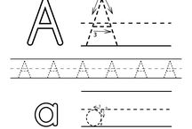 Preschool Alphabet Worksheets / These are free alphabet worksheets for preschoolers, kindergarteners, or kids in daycare. Children will learn how to write each letter of the alphabet.