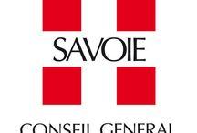 """Logos et com de """"Savoie"""" / Les visuels, logos et appellations de l'ancien Duché de Savoie, actuellement départements de la Savoie et de la Haute-Savoie, réunis sous l'appellation Savoie Mont-Blanc"""