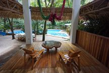 Beach Houses / Situated on four acres of unspoiled tropical beach, you will find beautiful swimming areas and also outcroppings of rock where natural tide pools form. / by Hotel Tropico Latino