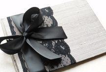 Silver & Black Wedding
