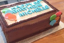 Custom Celebration Cakes / Custom celebration cakes (birthdays, anniversaries etc) baked by The White Apron Pastry Co. in Naramata, BC.