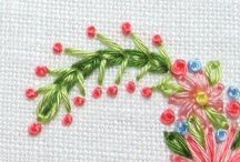 Texture embroidery