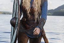 Vikings/ Warrior Hair Styles & Face paints