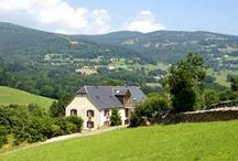 Gites de la Pierre du Loup Orbey Alsace / 3 gites 3 epis de 2 à 5 personnes situés en plaine nature sur le massif des Vosges en Alsace.